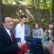 Lycee francais d Istanbul : échange avec les élèves de terminale