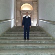 Cyril Benjamin CASTRO à l'Ambassade de France à Rome