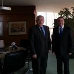 Avec l'Ambassadeur de Turquie
