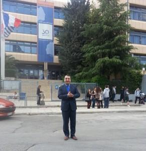 Visite en Grèce