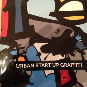 STREET ART et Soutiens aux PME, en présence de Cyril Benjamin CASTRO