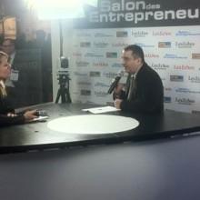 Cyril CASTRO interviewé par Les Echos au salon des entrepreuneurs