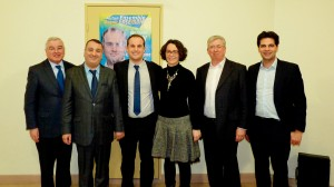 EUROPE POPULAIRE soutient Bertrand JOLY avec Cyril CASTRO et Laurent DANIEL