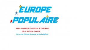 LOGO EUROPE POPULAIRE - EUROPOP