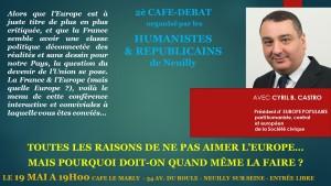 Quel avenir pour la France dans l'Europe, et dans quelle Europe ?